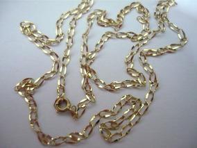 Correntinha De Ouro Masculina 60cm 5 Gr Mbb