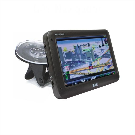 Gps Bak Premium 4.3 Bk-gps4330 4gb