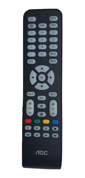 Controle Remoto Aoc Tv Original