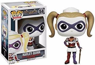 Funko Pop Dc Batman Arkham Asylum Harley Quinn #54