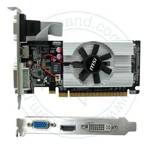 Imagen 1 de 1 de Tarjeta De Video Msi Nvidia Geforce 210 1 Gb Ddr3 De 64 B...
