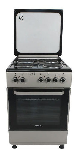 Cocina Eléctrica 60cm 4 Hornallas Grill Tapa Dalton Novogar