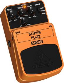 Pedal Super Fuzz Behringer Sf300 Guitarra Baixo Violão