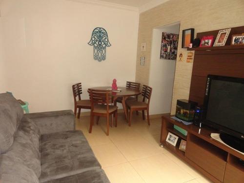 Apartamento À Venda, 70 M² Por R$ 290.000,00 - Campo Grande - Santos/sp - Ap3877