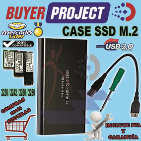 Case Enclosure Para Disco Duro Ssd M2 2230/2260/2280 Usb3.0