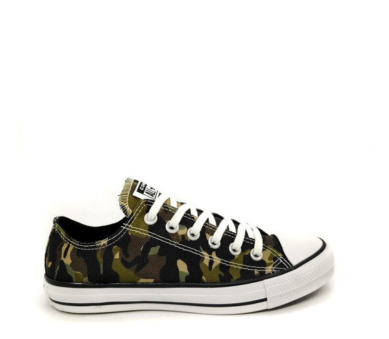 Tênis Converse All Star Original Camuflado Ck08030001