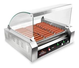 Máquina Eléctrica Para 30 Salchichas 1200w Hot Dogs