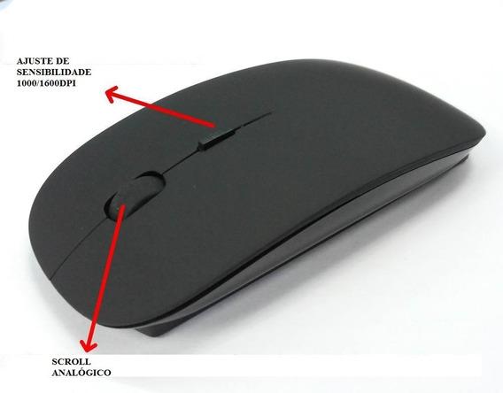 Mouse Usb Compatível Apple Macbook Magic S/fio Wireless
