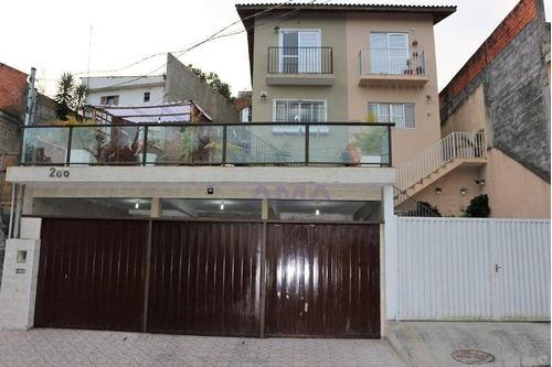 Imagem 1 de 30 de Casa Com 3 Dormitórios À Venda, 190 M² Por R$ 420.000,00 - Jardim Miranda - Cotia/sp - Ca0240