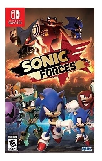 Sonic Forces Switch Lacrado