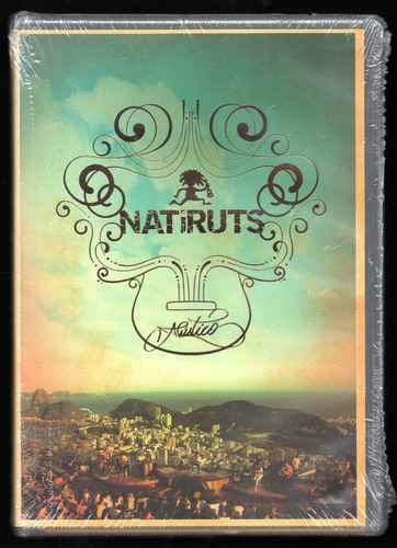 Dvd Natiruts | Acústico | Mirante Dona Marta - Rio (lacrado)