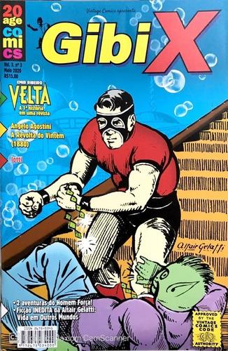 Gibi X 03 Quadrinhos Nacionais Velta Ficção Científica