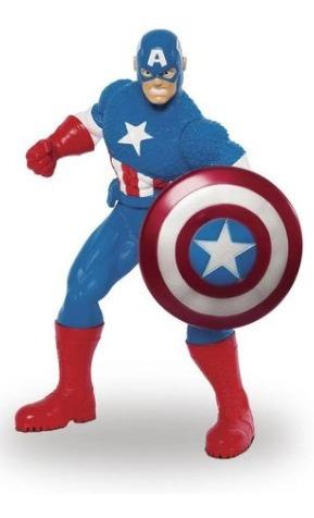 Boneco Capitão América Avengers Mimo