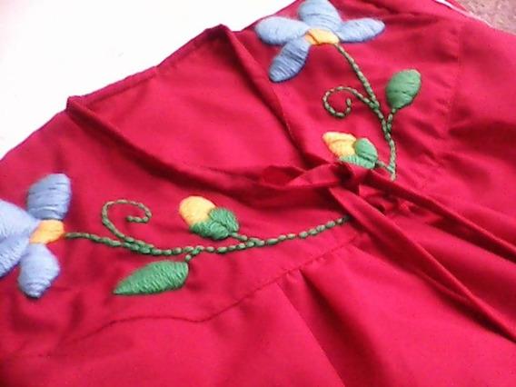 Blusas Mexican@s De Niñas Bordadas A Mano,diseño Argentino
