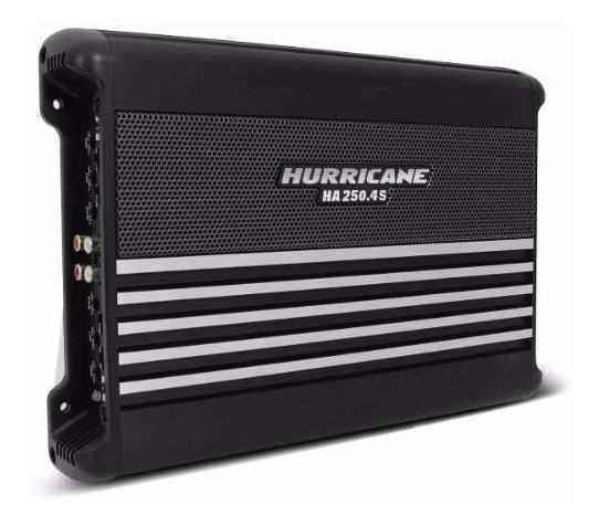 Modulo 1000 Rms Hurricane Ha250.4s 4x250 2 Ohm Classe Ab