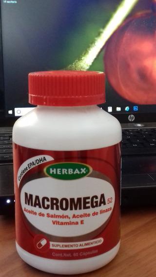Macromega Herbax Suplemento Alimenticio