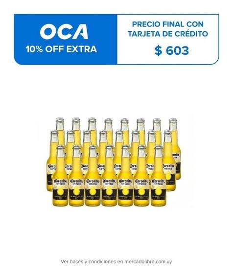 Cerveza Coronita 210 Cc Pack X 24 Unidades