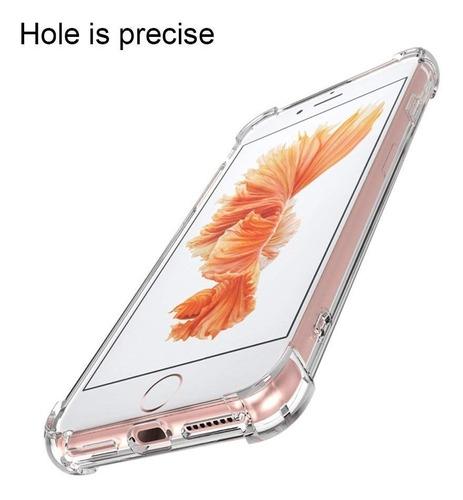 Carcasa iPhone 5 5s Se Estuche Transparente Liviano Antichoq