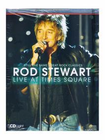 Rod Stewart Live At Times Cd Light Original Novo Lacrado