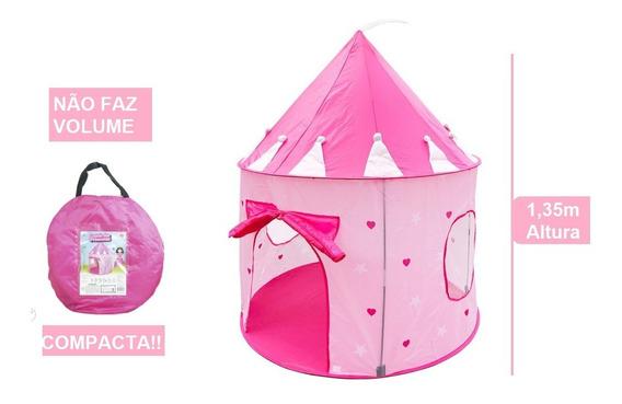 Super Barraca Infantil Castelo Das Princesas Meninas Grande