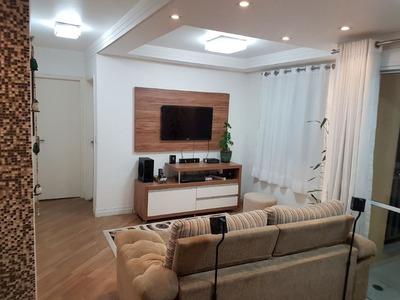 03 Dormitórios , 01 Suite , 01 Vaga No 12º Andar Com Sala Estendida , Muito Bem Decorado - 169-im264132