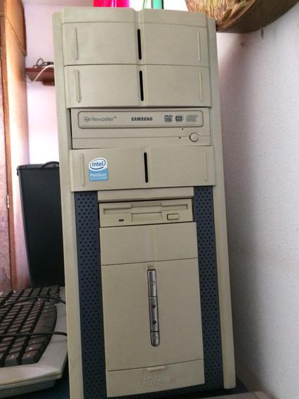 Computador Intel Dual Core 1gb De Ram E Leitor Rw