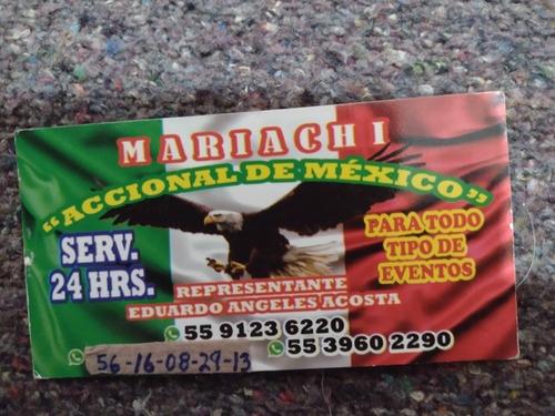 Imagen 1 de 5 de Mariachi Accional De Mexico