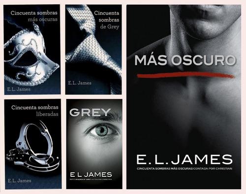 Saga Completa Libros 50 Sombras De Grey (5 Libros) E.l James
