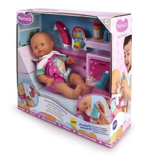 Nenuco Bebe Dolor De Garganta Con Accesorios