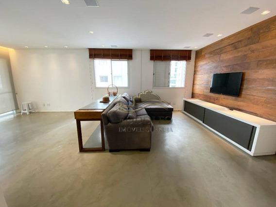 Apartamento Com 3 Dormitórios À Venda, 121 M² Por R$ 690.000,00 - Praia Das Astúrias - Guarujá/sp - Ap1100
