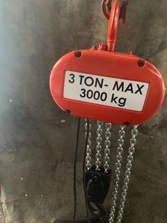 Polipasto Electrico 3 Ton