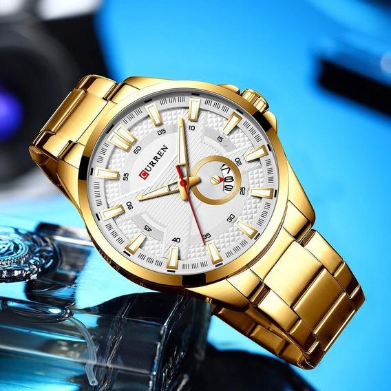 Relógio Inoxidável Masculino A Prova D