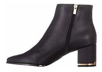 Calvin Klein - Botas Para Mujer Fioranna Almond Toe Ankle C
