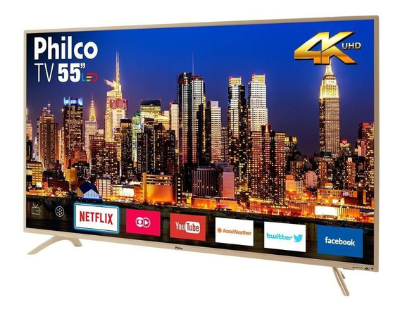 Smart Tv Philco 55 Led Full Hd 4k Ptv55f61snc