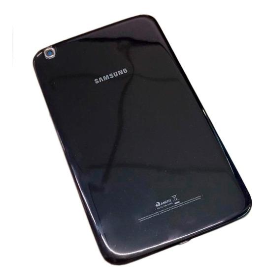 Tampa Traseira Tablet Samsung Galaxy Tab3 Sm-t311 Azul Preto