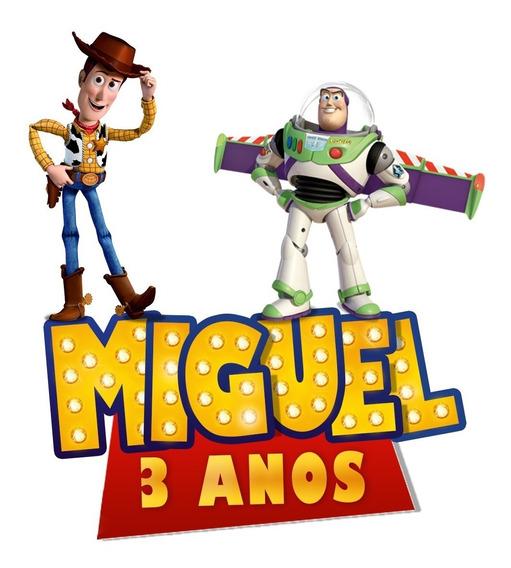 Convite De Aniversário Toy Story
