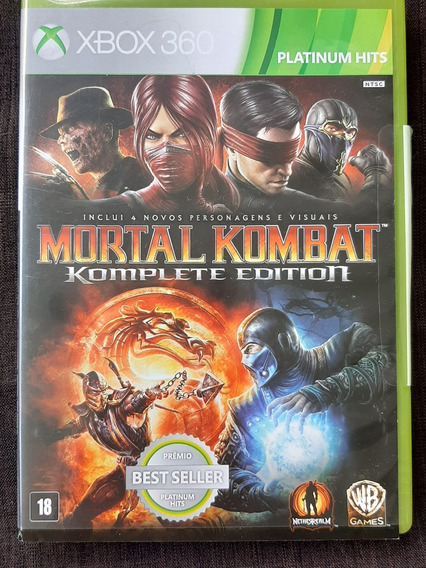 Jogo Mortal Kombat (xbox 360)