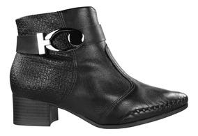 Bota Ankle Boot Cano Curto Ramarim Feminina 1857102   Radan