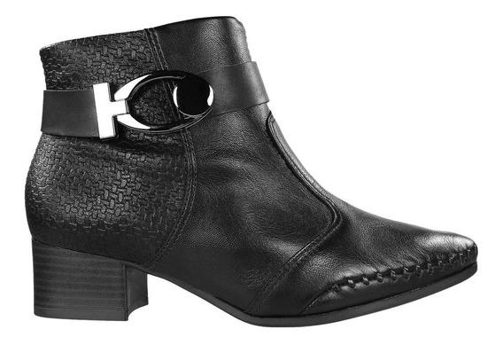 Bota Ankle Boot Cano Curto Ramarim Feminina 1857102 | Radan