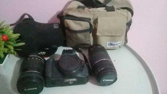 Câmera Profissional Canon Eos Dslr T3i (pouquíssimo Usada)