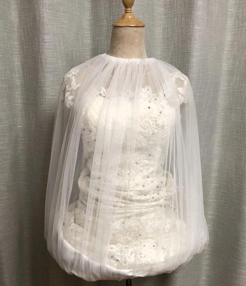 Fondo De Tul Para Alzar Vestido De Novia