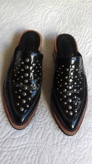 Zapatos Febo 37 Negros Charol