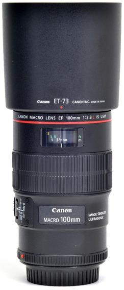 Objetiva Canon 100mm 2.8 Macro Is 5727145