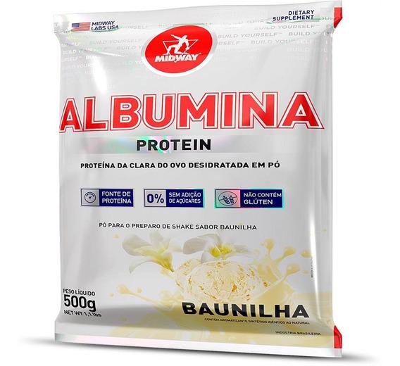 Albumina 500 G - Baunilha