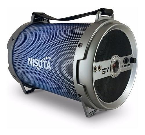 Parlante Portátil Bluetooth Usb Karaoke Fm Bateria Luz Sd