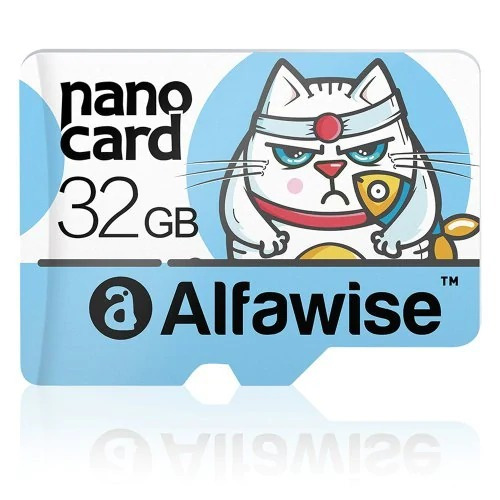 Cartão Memória Alfawise Micro Sd De 32 Giga Classe 10 Top