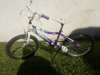 Bicicleta Raleigh Jazzi Rodado 20 Nena