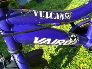 Bicicleta Vairo (vulcan) Rodado 12