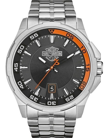 Relógio Bulova Harley Davidson Masculino Wh30500t