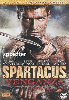 Spartacus Venganza 2012 Temporada 2 Dos 10 Episodios Dvd